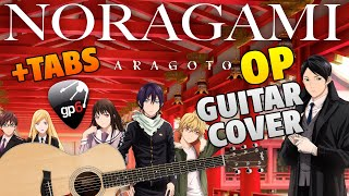 Noragami Aragoto Opening - Kyouran Hey Kids!! (fingerstyle guitar cover)