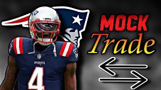 Deshaun Watson MOCK TRADE to the New England Patriots