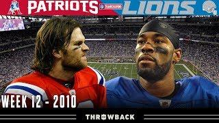 A 4th Quarter Avalanche! (Patriots vs. Lions, 2010)