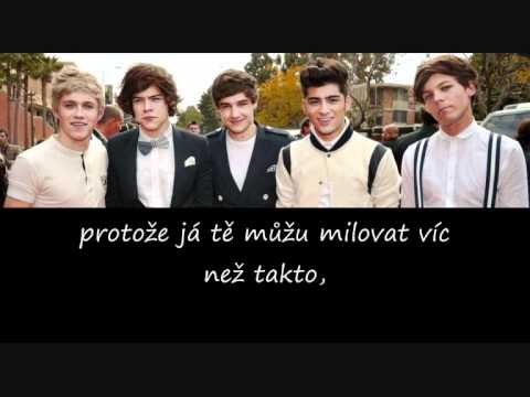 Baixar One Direction - More than this (CZ překlad)