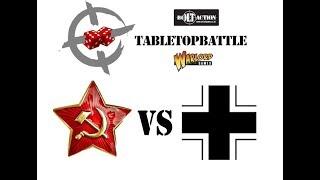 """Bolt Action 2nd ed battle report #26 - 1944: Eastern Front """"Belorussia"""" SOV vs GER 1250pts"""