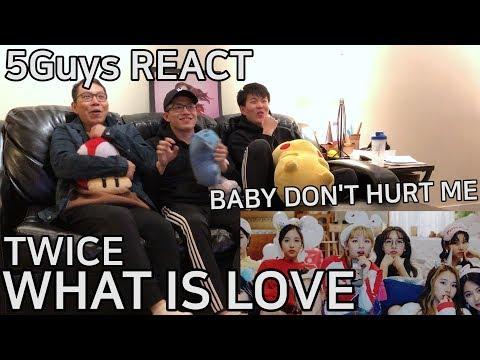[FANBOYS LIKEY] TWICE - What is Love (5Guys MV REACT)