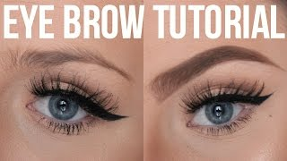 EYE BROW TUTORIAL | ANASTASIA BROW DUO