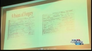 Sheriff Joe Arpaio on Obama birth certificate forgery investigation