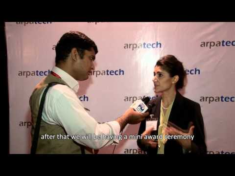 ARPATECH - TECH NIGHT 2012 Laila Khan FM 107 Interview