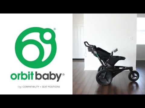 Orbit Baby O2 Tutorial:  Seat Compatibility
