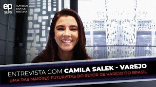 MIX PALESTRAS   Camila Salek   Entrevista com Camila Salek   Varejo