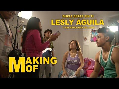 MAKING OF Duele Estar Sin Ti Lesly Aguila y Sus Mensajeros del amor 2015 HD LISTO
