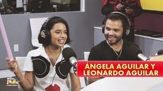 Ángela Aguilar y Leonardo Aguilar revelan secretos de su papá Pepe Aguilar