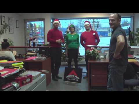 Absolute Roof Staff Spread Christmas Cheer 2014