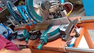 Máy cắt hai đầu và máy phay đầu đố tự chế