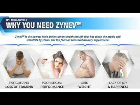 Zynev Male Enhancement: Boost Sexuality! Risk-Free Trial!