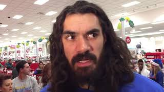Thunder - Steven Adams talks about Holiday Assist Event