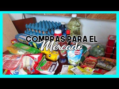 COMPRAS PARA EL MERCADO DEL MES DE AGOSTO 2017/ LOS ROLES DE EDY