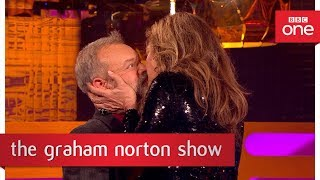 Graham gets Hollywood kissing tips - The Graham Norton Show - BBC One