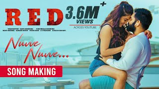 Nuvve Nuvve making video - RED- Ram Pothineni, Malvika Sha..