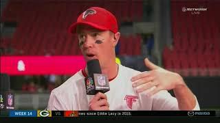 NBC Thursday Night Football VolkesWagon & Mazda Post Game Show 2017 NO@ATL