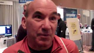 TrainingBible Coach Chuck Graziano discusses TrainingPeaks with Dirk Friel at USAT