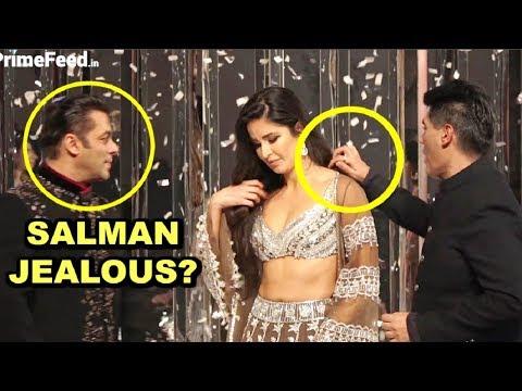 Salman Khan JEALOUS Of Manish Malhotra Touching Katrina Kaif Shoulder