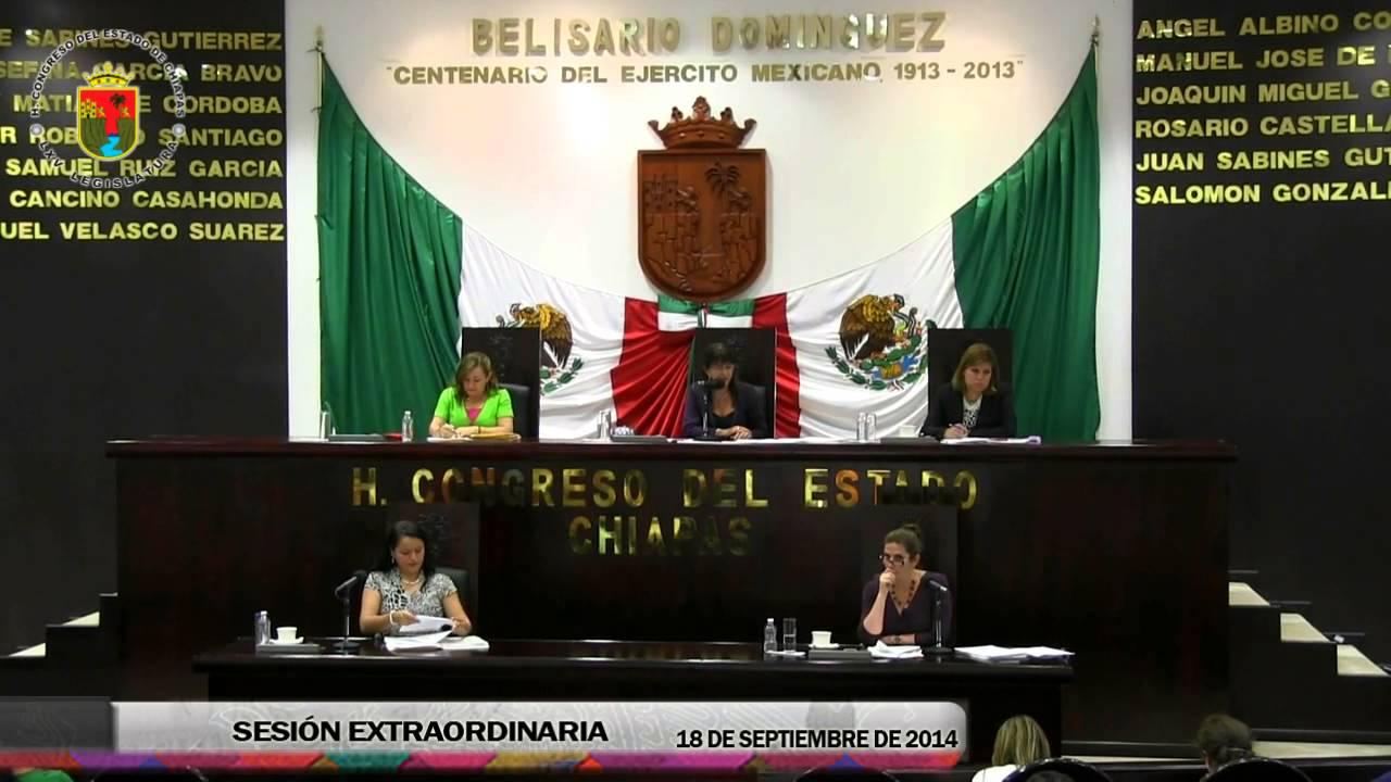 Sesión Extraordinaria 18 de Septiembre de 2014