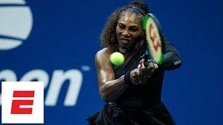 2018 US Open highlights: Serena Williams cruises past Karolina Pliskova in quarterfinals | ESPN