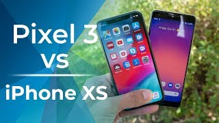 Google Pixel 3 vs Apple iPhone XS