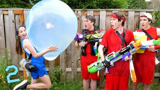 If Water Fights Were Like Video Games