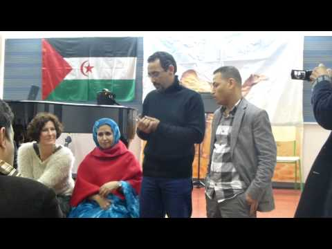 First encounter of Saharawi musicians in Vitoria (Spain) 2013