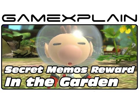 Pikmin 3 - Secret Memos Reward Video #1: In The Garden (Unlockable) - Smashpipe Games