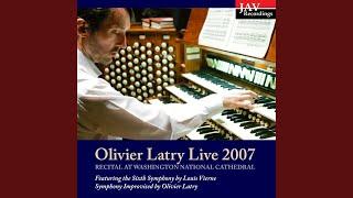 Improvisation by Olivier Latry: IV. Final (Live)