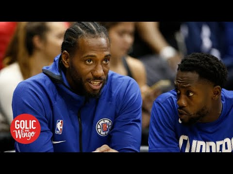Kawhi Leonard will not play vs. Bucks and Doris Burke doesn't like it | Golic and Wingo