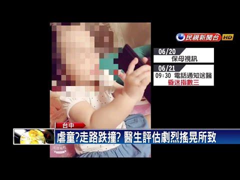 一歲女童腦傷又骨折 母懷疑遭保母虐待-民視新聞