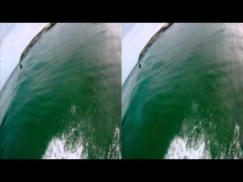 3D GoPro Surf at Manly