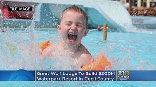 Great Wolf Lodge To Build $200M Waterpark Resort In Cecil County