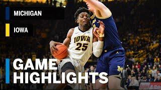 Highlights: Michigan at Iowa | Big Ten Highlights