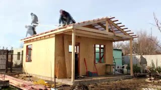 Строительство каркасного дома 5х7