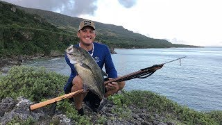 Spearfishing off the Cliffs of Rota, CNMI {Catch Clean Cook}