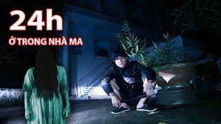 Gấu Vlogs - Thử Thách 24h Sống Trông Căn Nhà Ma ở Đà Lạt ( 24 hours in the ghost house )
