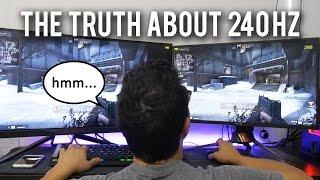 Does 240 Hz actually give you an advantage?
