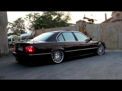 2001 BMW 740i E38 On STR 607 Custom 20 Concave Vossen CV3 Style