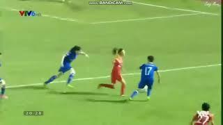 Sốc _ các tuyển thủ nữ bóng đá Việt Nam đánh nhau trên sân - YouTube