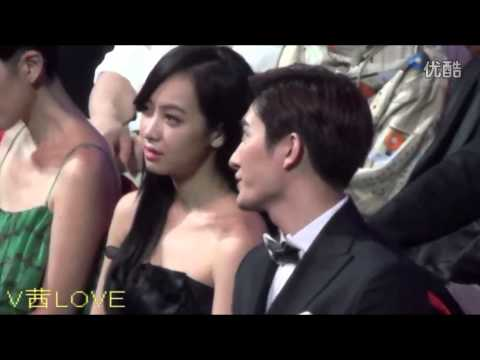 140413 Victoria & Zhoumi (Close Up Fancam)