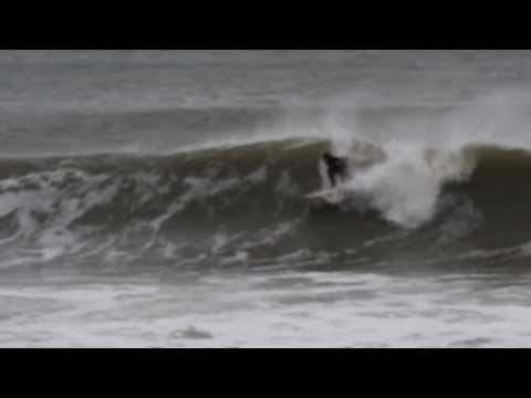 NJ SURF First Winter Swell 2013