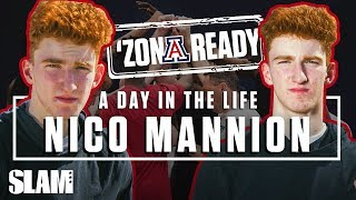 Nico Mannion's getting RIGHT for an Arizona Final Four Run 💪🏼 | SLAM Day in the Life
