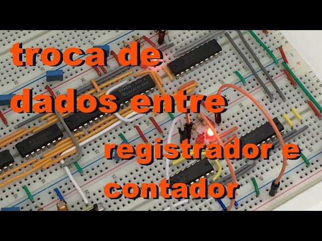 TROCA DE DADOS ENTRE REGISTRADOR E CONTADOR | Conheça Eletrônica! #048