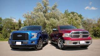 2015 Ford F-150 2.7L EcoBoost vs. 2015 Dodge Ram 1500 EcoDiesel Comparison