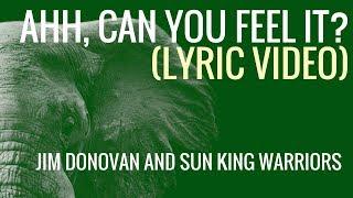 Ahh Can You Feel It Jim Donovan and Sun King Warriors Lyric Video