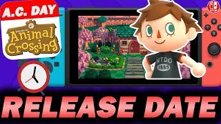 When Is Animal Crossing Switch's RELEASE DATE!?! (Prediction+Speculation)