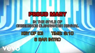 Creedence Clearwater Revival - Proud Mary (Karaoke)