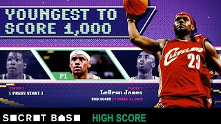 The youngest to 1,000: How LeBron and Kobe reached a scoring milestone in their teens